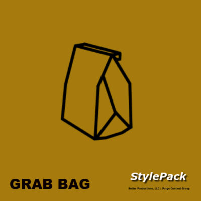 grab bag style pack